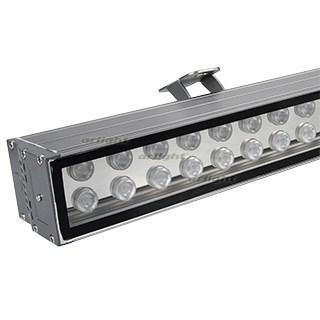 Светодиодный прожектор AR-LINE-1000XL-54W-24V RGB (Grey, 30 deg, DMX512) (ARL, Закрытый) - фото 101039