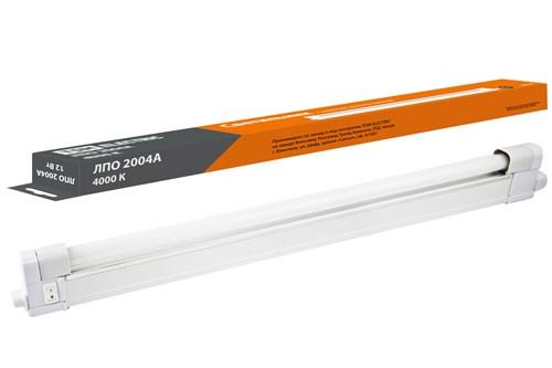 Светильник ЛПО2004А 12 Вт 230В T4/G5 4000К TDM - фото 102055