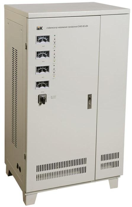 Стабилизатор напряжения трехфазный СНИ3-60 кВА IEK (восстановленный) - фото 108166
