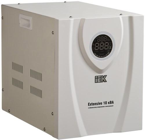 Стабилизатор напряжения переносной EXTENSIVE 10кВА IEK (восстановленный) - фото 108169