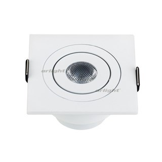 Светодиодный светильник LTM-S60x60WH 3W White 30deg (Arlight, IP40 Металл, 3 года) - фото 54688