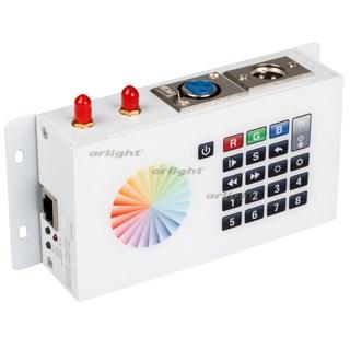 Контроллер DMX SR-2816WI White (12V, WiFi, 8 зон) (ARL, IP20 Металл, 3 года) - фото 54691