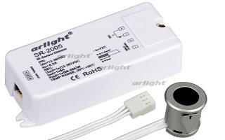 Диммер SR-2005 Silver-R (12-36V, 96-288W, IR-Sensor) (Arlight, -) - фото 54706