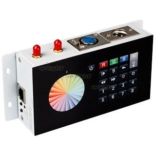 Контроллер DMX SR-2816WI Black (12V, WiFi, 8 зон) (ARL, IP20 Металл, 3 года) - фото 54753