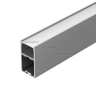 Профиль с экраном SL-LINE-3667-2500 ANOD+OPAL (ARL, Алюминий) - фото 54762