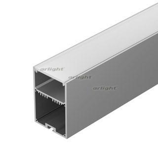 Профиль с экраном SL-LINE-4970-2500 ANOD+OPAL (Arlight, Алюминий) - фото 54764