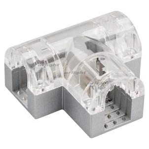 Соединитель тройной ARL-CLEAR-U15-2x90 (26x15mm) Arlight - фото 54962
