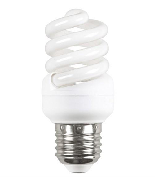IEK Лампа энергосберегающая спираль КЭЛ-FS Е27 11Вт 2700К Т2 - фото 55150