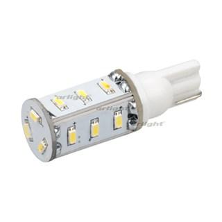 Автолампа ARL-T10-15N1 Warm White (10-30V, 15 LED 3014) (ANR, Открытый) - фото 55209