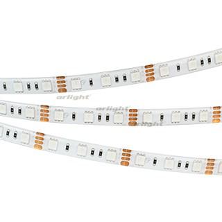 Лента RTW 2-5000SE 12V RGB 2x (5060, 300 LED, LUX) (ARL, 14.4 Вт/м, IP65) - фото 55256