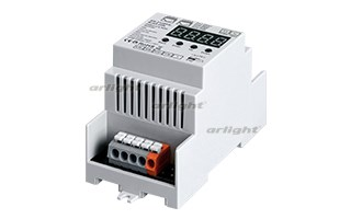 Декодер DMX SR-2108FA-RJ45-DIN (12-36V, 240-720W, 4CH) (ARL, IP20 Пластик, 3 года) - фото 55275