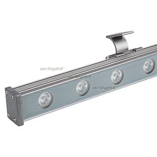 Светодиодный прожектор AR-LINE-1000S-18W-24V RGB (Grey, 30 deg, DMX512) (ARL, Закрытый) - фото 55375