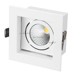 Светильник CL-KARDAN-S102x102-9W White (WH, 38 deg) (ARL, IP20 Металл, 3 года) - фото 55379