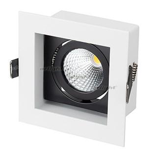 Светильник CL-KARDAN-S102x102-9W White (WH-BK, 38 deg) (ARL, IP20 Металл, 3 года) - фото 55380