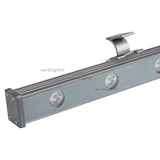 Светодиодный прожектор AR-LINE-1000XS-12W-24V RGB (Grey, 30 deg, DMX512) (ARL, Закрытый) - фото 55384
