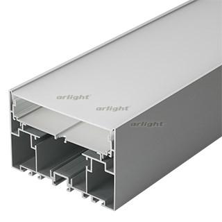Профиль с экраном S2-LINE-10570-2500 ANOD+OPAL (ARL, Алюминий) - фото 55513