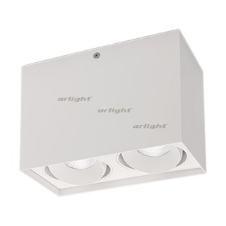 Светильник SP-CUBUS-S100x200WH-2x11W Day White 40deg (ARL, IP20 Металл, 3 года) - фото 55565