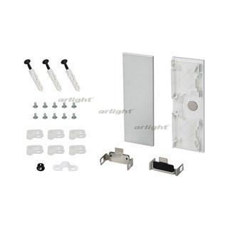 Заглушка S2-WALL-X2-H128 Silver (ARL, Пластик) - фото 55580