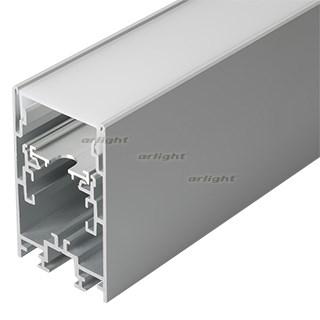Профиль с экраном S2-LINE-4067-2500 ANOD+OPAL (ARL, Алюминий) - фото 55658