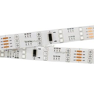 Лента SPI-5000SE 12V RGB (5060, 480 LED x3,1812) (ARL, Закрытый, IP65) - фото 55834