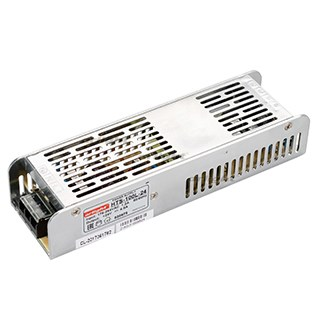 Блок питания HTS-100L-24 (24V, 4.5A, 100W) (ARL, IP20 Сетка, 3 года) - фото 56025