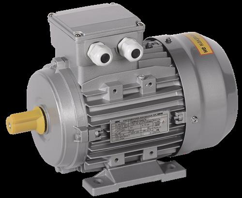Электродвигатель асинхронный трехфазный АИС 80B2 380В 1,1кВт 3000об/мин 1081 DRIVE IEK - фото 58299