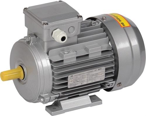 Электродвигатель асинхронный трехфазный АИС 100LB8 380В 1,1кВт 750об/мин 1081 DRIVE IEK - фото 58314