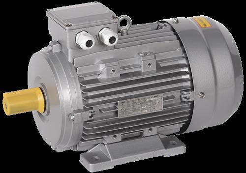 Электродвигатель асинхронный трехфазный АИС 112L2 380В 5,5кВт 3000об/мин 1081 DRIVE IEK - фото 58319