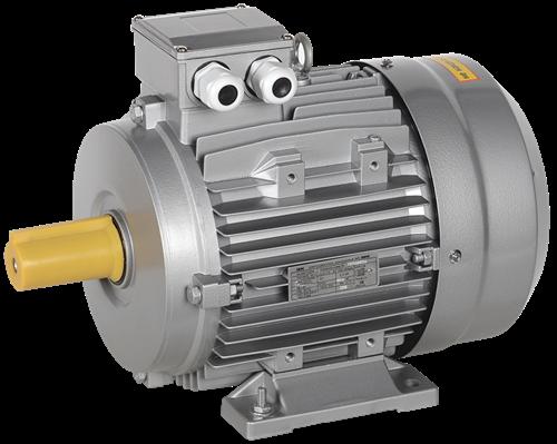 Электродвигатель асинхронный трехфазный АИС 132MB4 380В 9,2кВт 1500об/мин 1081 DRIVE IEK - фото 58327