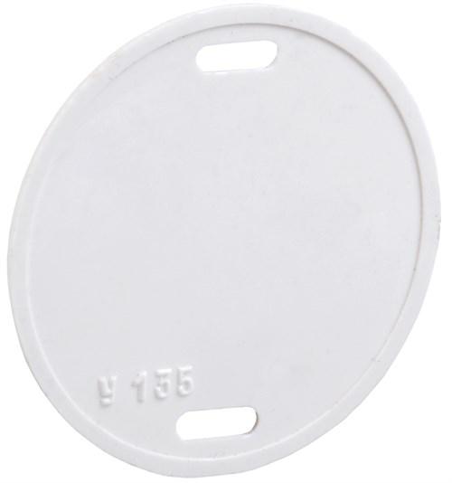Бирка кабельная маркировочная У-135 (круг 55мм) IEK - фото 59381