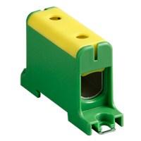 Клемма вводная силовая КВС 6-50 кв.мм. желтая/зеленая TDM - фото 59421