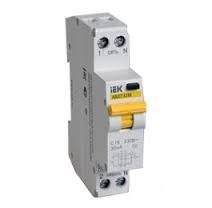 Автоматический выключатель дифференциального тока АВДТ32М С25 10мА IEK - фото 59437