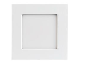 Светильник DL-120x120M-9W Day White (ARL, IP40 Металл, 3 года) - фото 59505
