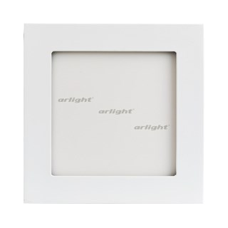 Светильник DL-142x142M-13W White (ARL, IP40 Металл, 3 года) - фото 59507