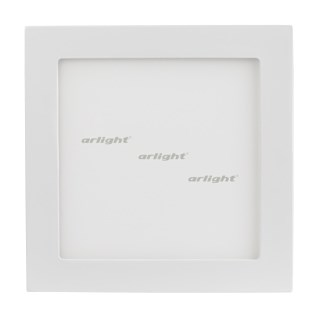 Светильник DL-192x192M-18W Warm White (Arlight, IP40 Металл, 3 года) - фото 59513