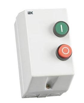 Контактор КМИ10960 9А в оболочке 220В/АС3 IP54 IEK - фото 59551