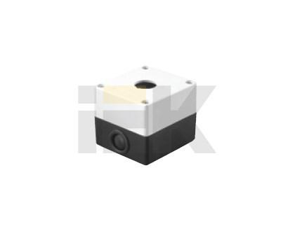 Корпус поста КП101 для кнопок управления 1 место белый IEK - фото 59553
