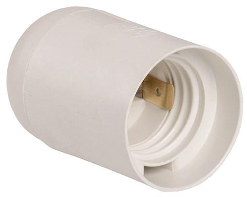 Патрон подвесной Ппл27-04-К02 пластик Е27 белый (индивидуальный пакет) IEK - фото 59762