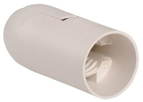 Патрон подвесной Ппл14-02-К02 пластик Е14 белый (50шт) (стикер на изделии) IEK - фото 59767