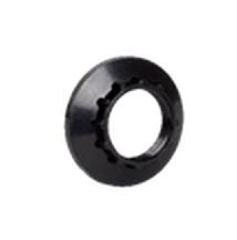Кольцо абажурное КП14-К01 к патрону Е14 пластик черный (индивидуальный пакет) IEK - фото 59777