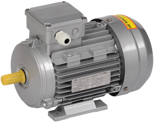 Электродвигатель асинхронный трехфазный АИР 63A6 380В 0,18кВт 1000об/мин 1081 DRIVE IEK - фото 59800