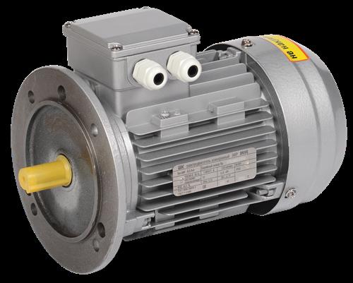 Электродвигатель асинхронный трехфазный АИР 63B2 380В 0,55кВт 3000об/мин 3081 DRIVE IEK - фото 59837