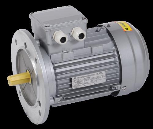 Электродвигатель асинхронный трехфазный АИР 71B6 380В 0,55кВт 1000об/мин 3081 DRIVE IEK - фото 59843