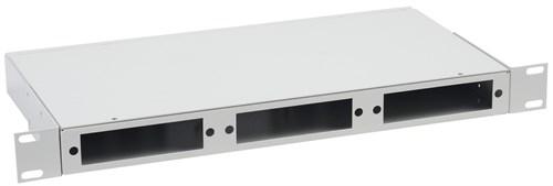 ITK 1U Оптический распределительный кросс до 24 портов (без планок, под 8п-3шт) - фото 59895