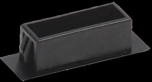 ITK Заглушка SC duplex пластик (черный) - фото 59902