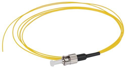ITK Оптический коммутационный монтажный шнур (пигтеил), (SM), 9/125 (OS2), ST/UPC, LSZH, 1,5м - фото 59914