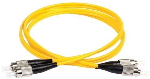 ITK Оптический коммутационный соединительный шнур (патч-корд), SM, 9/125 (OS2), FC/UPC-FC/UPC, (Duplex), 3м - фото 59917