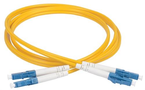 ITK Оптический коммутационный соединительный шнур (патч-корд), SM, 9/125 (OS2), LC/UPC-LC/UPC, (Duplex), 1м - фото 59918