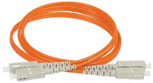 ITK Оптический коммутационный соединительный шнур (патч-корд), MM, 50/125 (OM2), SC/UPC-SC/UPC, (Duplex), 1м - фото 59921
