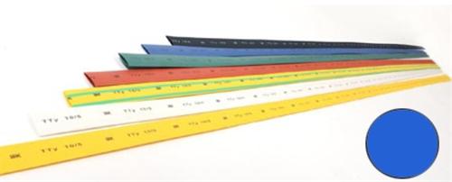 Трубка термоусаживаемая ТТУ 22/11 синяя (1м) IEK - фото 60029